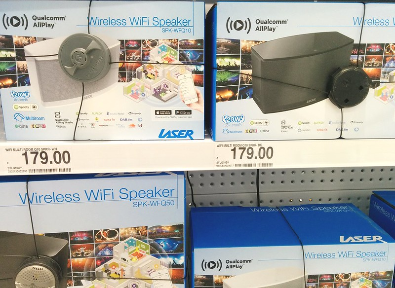 Cheapie wireless speakers