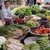 Donna vietnamita nel mercato