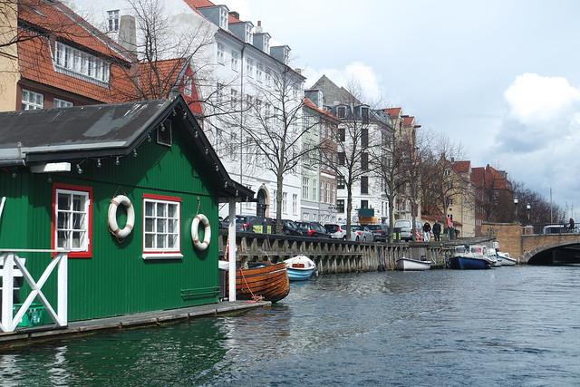 Copenhague en barco