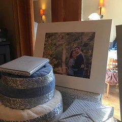 Surprising my bride today with some gifties at her shower! #ilovemyclients #happy #ilovemyjob #smallbusiness #longislandweddingphotographer #longislandweddingphotography