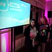 Nithya and myself having a good if slightly blurry time at the Facebook F8 Join all_voices diversity event by Tané Tachyon