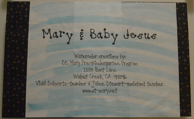 Art Hall - Mary & Baby Jesus