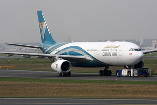 Oman Air Airbus A330-343 A4O-DB