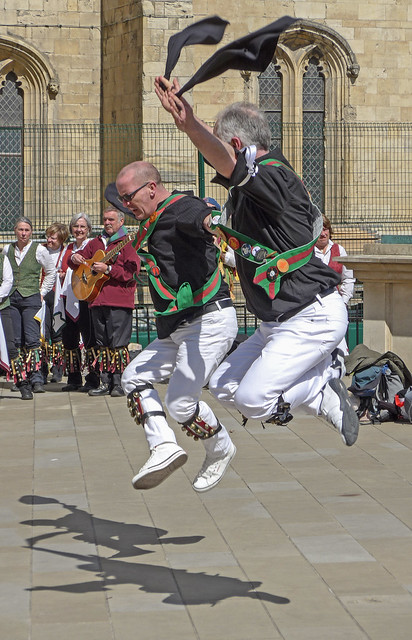 Morris Dancers in York