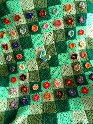 Granny's Garden made by Susan. She is taking to Broomfield Hospital. Thank you.