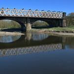 Bridge reflections at Preston