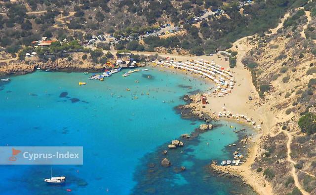 Пляж Коннос. Пляжи Кипра в районе курортного города Протарас