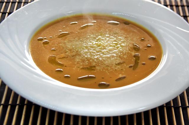 Sopa Crema de Calabaza 005