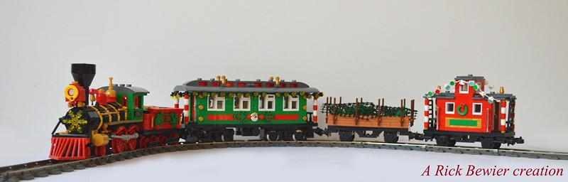 Marvelous Winter Village Holiday Express Lego Town Eurobricks Forums Easy Diy Christmas Decorations Tissureus