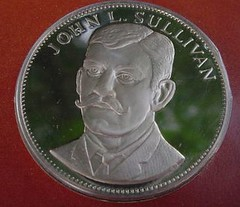 John Sullivan the Gallery of Great Americans medal