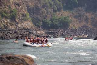 White Water Rafting the Zambezi