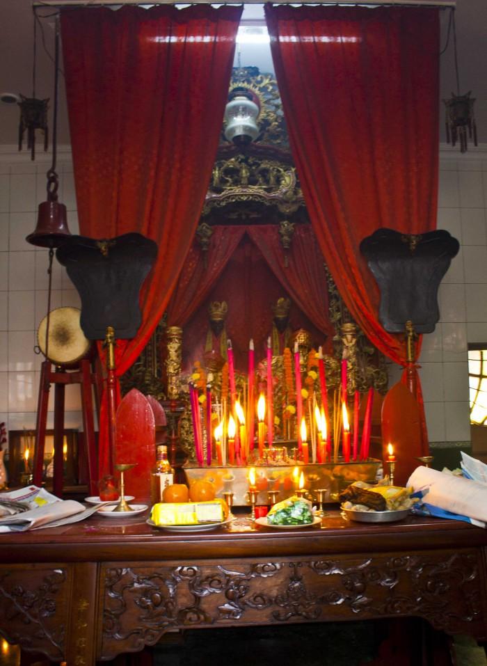 Sea Voi Yune Leong Futh Chinese Church in Tiretta Bazar, Kolkata, India