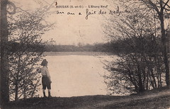 Houdan (S.-et-O.) - L'Etang Neuf (c.1915) - Photo of Condé-sur-Vesgre
