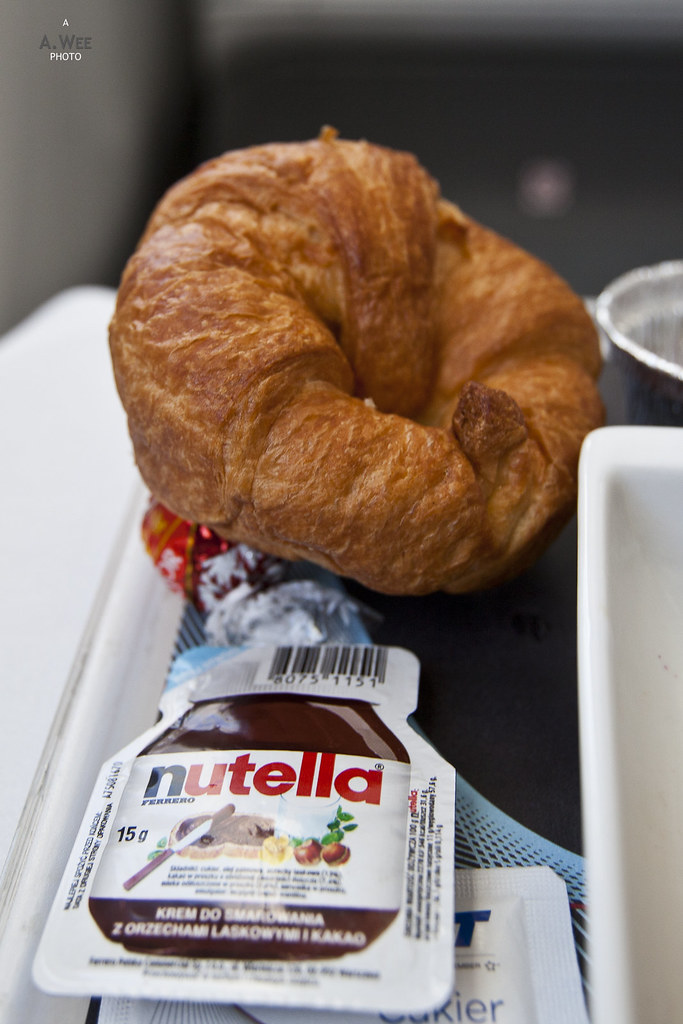 Croissant and Nutella