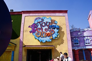 Cloud Cuckoo Land Toy Shop before Ice Age