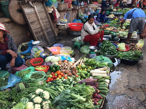 Battambang: marché