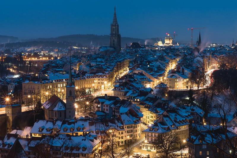 Ice cold morning - Bern