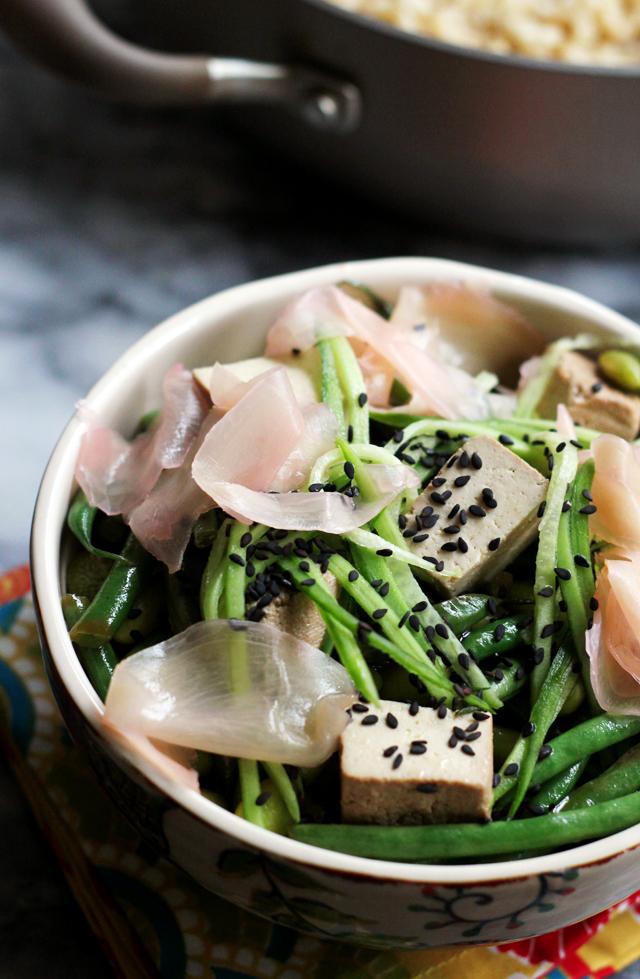 Vegetarian Sushi Rice Bowl