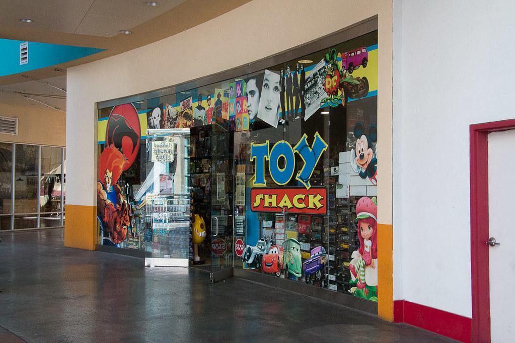 Outside Toy Shack in Las Vegas
