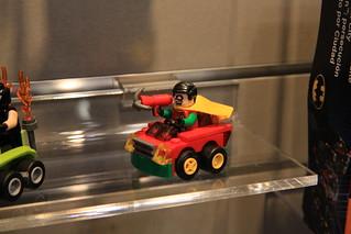 LEGO Mighty Micros 76062 Robin vs. Bane 5