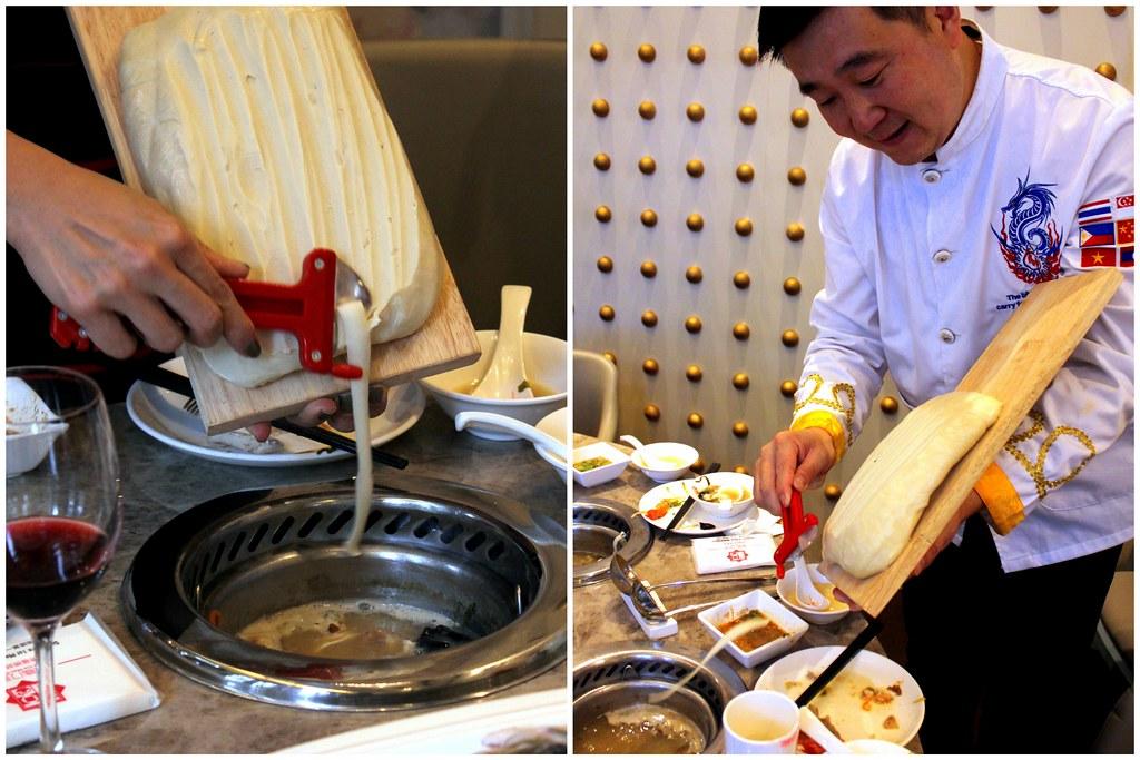 Fu Lin Men Dou Lao: Chef Preparing Noodle