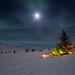 Camping by Dan F Skovli