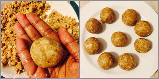 Peanut Ladoo Recipe for Toddlers and Kids - step 5