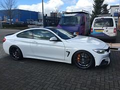 BMW 4 serie dakwrap