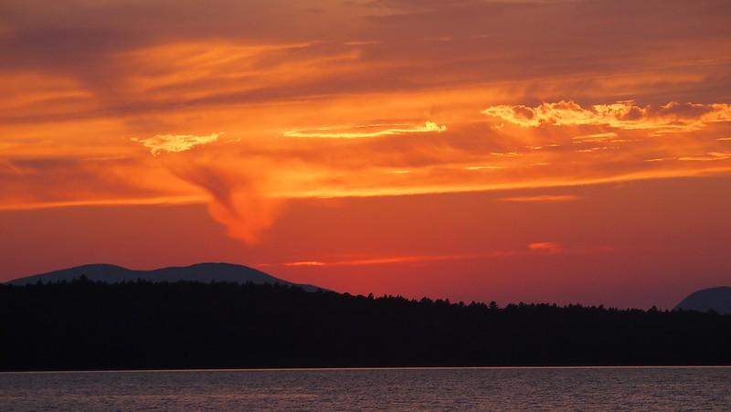Sunset at Mooselookmeguntic 2