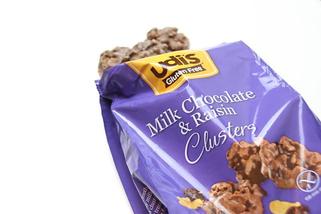 Milk Choc clusters