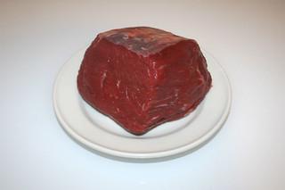 01 - Zutat Rindfleisch / Ingredient beef