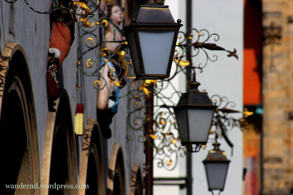 Bamberg: Altstadt Detail