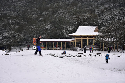堆雪人@七星公園