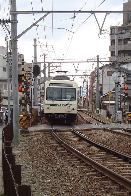 2016/03 叡山電車×ご注文はうさぎですか?? ヘッドマーク車両 #34