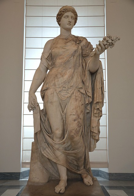 Statue of Flora, 2nd century AD, Naples National Archaeological Museum