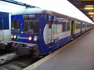 SNCF 212 in Paris Gare du Nord