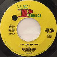 THE TEMPREES:COME AND GET YOUR LOVE(LABEL SIDE-B)