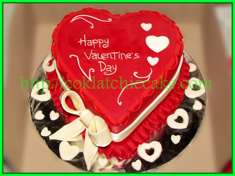 Cake Heart Valentine