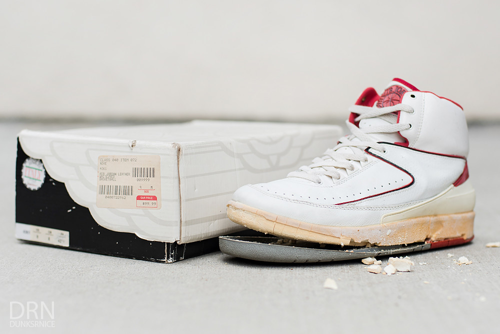 1987 White & Red II's.
