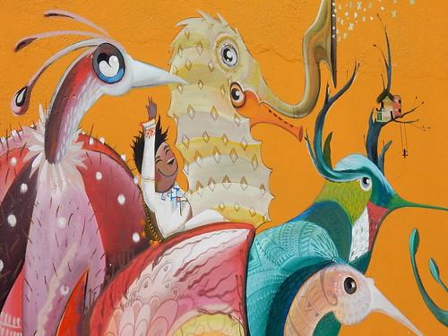 Zipolite - muurschildering