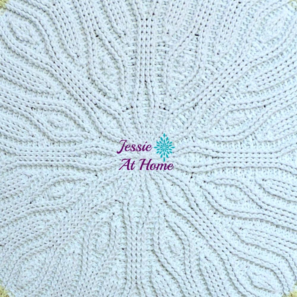 Mandala Rug An Amazingly Beautiful Free Crochet Pattern Jessie