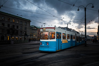 Tram in Gothenburg, Sweden