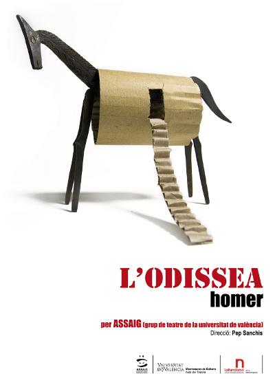 L'odissea - Homer - Assaig Grup de Teatre U.V.