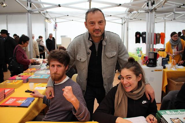 Timothée Ostermann, Yan Lindingre, Camille Burger - Festival Le Livre à Metz