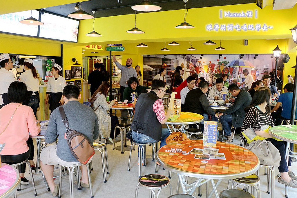 台北東區Mamak檔異國料理餐廳025