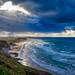 Stormy Whiterocks Beach