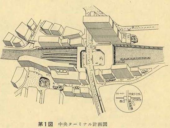 バスタ新宿とJR新宿ミライナタワーの前身?