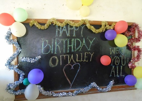 Happy Birthday O'Malley House