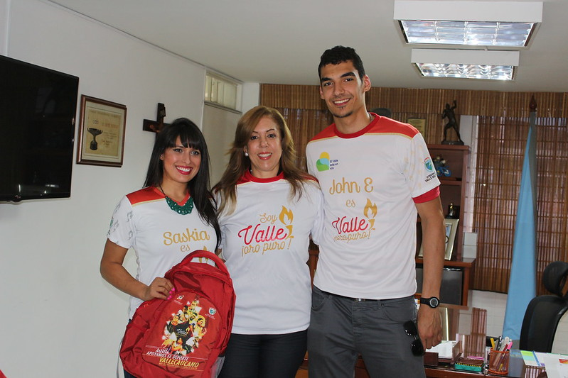 Visita de esgrimistas Valle Oro Puro
