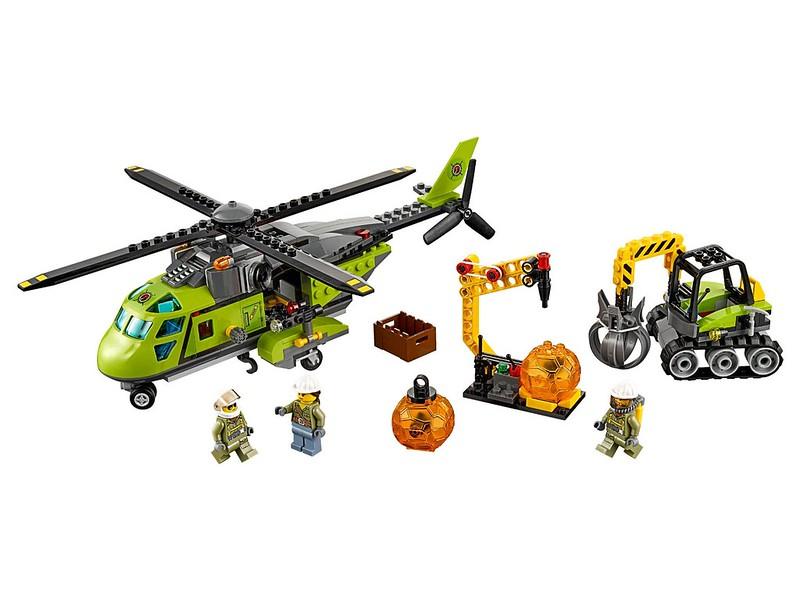 LEGO City Set 2016 - LEGO City Volcano Supply Helicopter (60123)